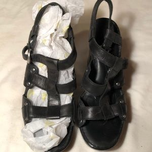 Born black slade heels